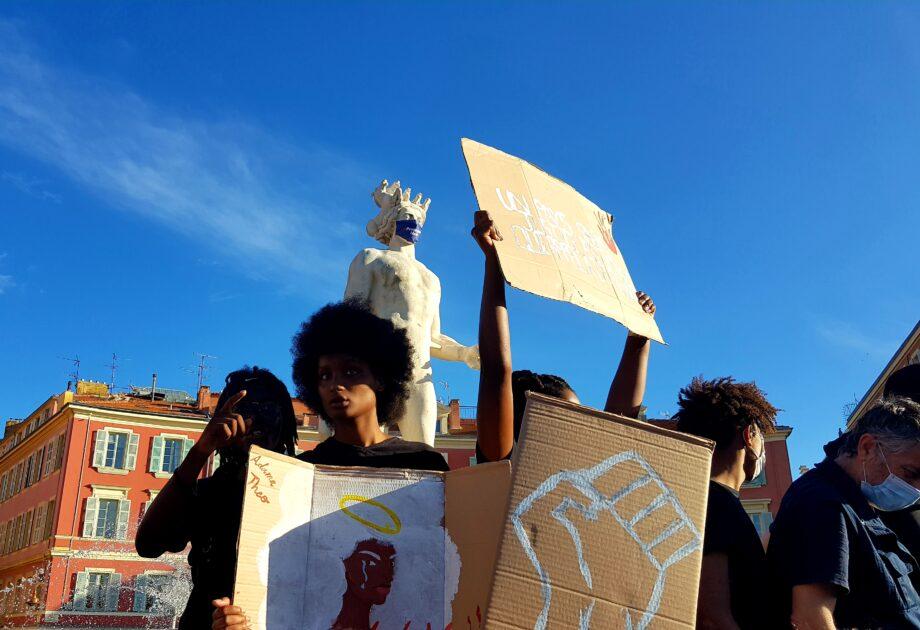 manifestation nice violences policière racisme juin 2020