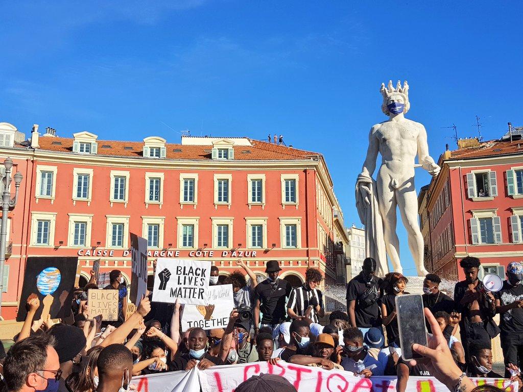 Manifestation Nice Violences policières 6 juin 2020
