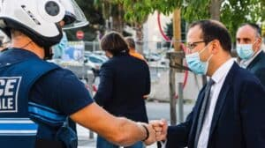 police municipale anthony borré Nice