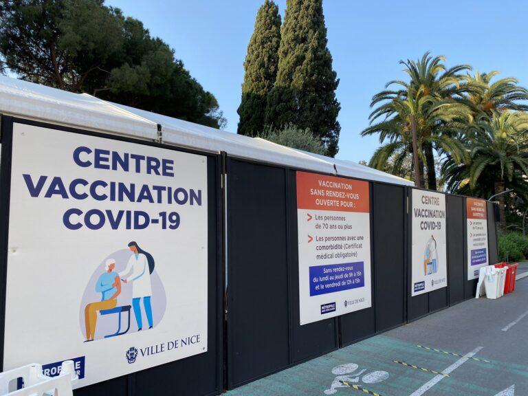 vaccination ville de nice covid-19