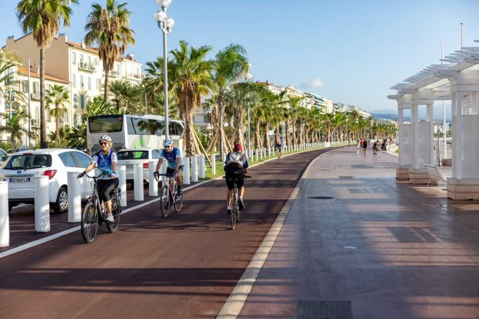 nice plan vélo pistes cyclables