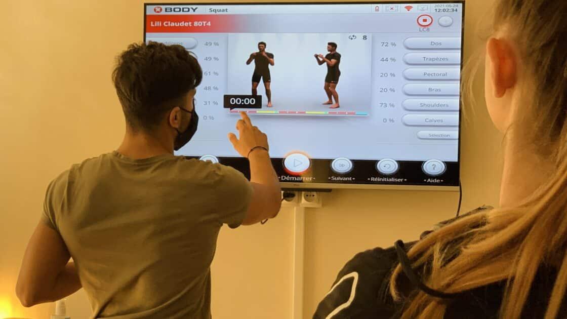 test letage coaching nice electrostimulation