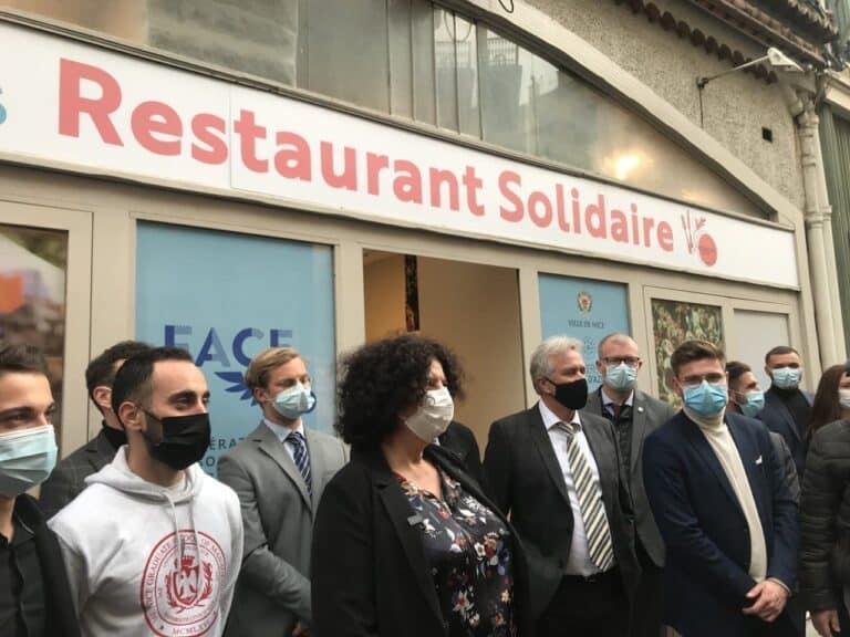restaurant solidaire étudiants nice