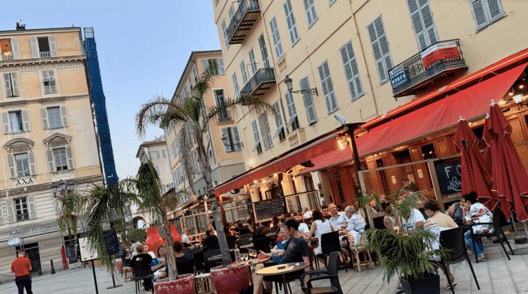 terrasses nice bars