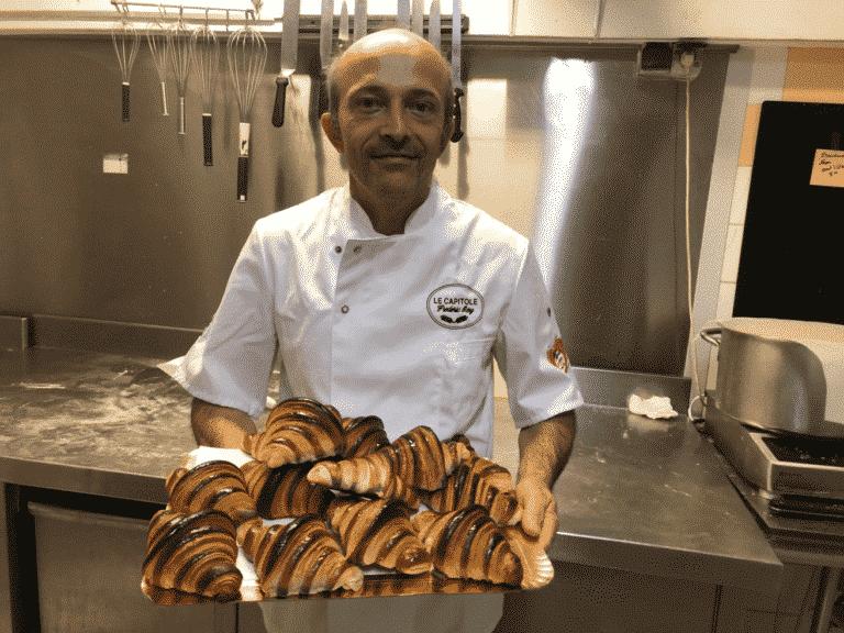 croissants à la lavande du boulanger Frédéric Roy