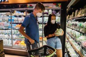 consommation prix courses supermarché éco